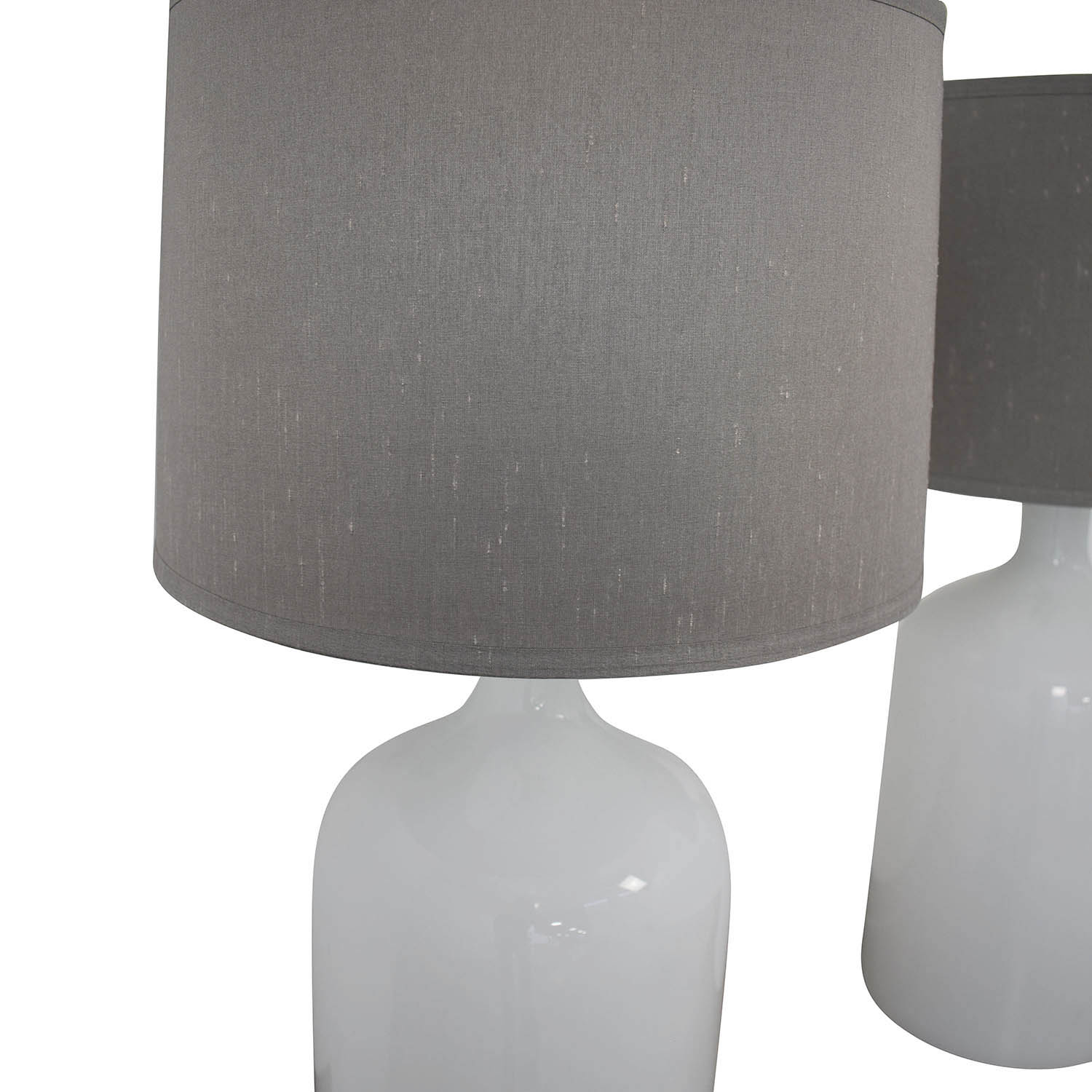 shop Crate & Barrel Della Table Lamps Crate & Barrel