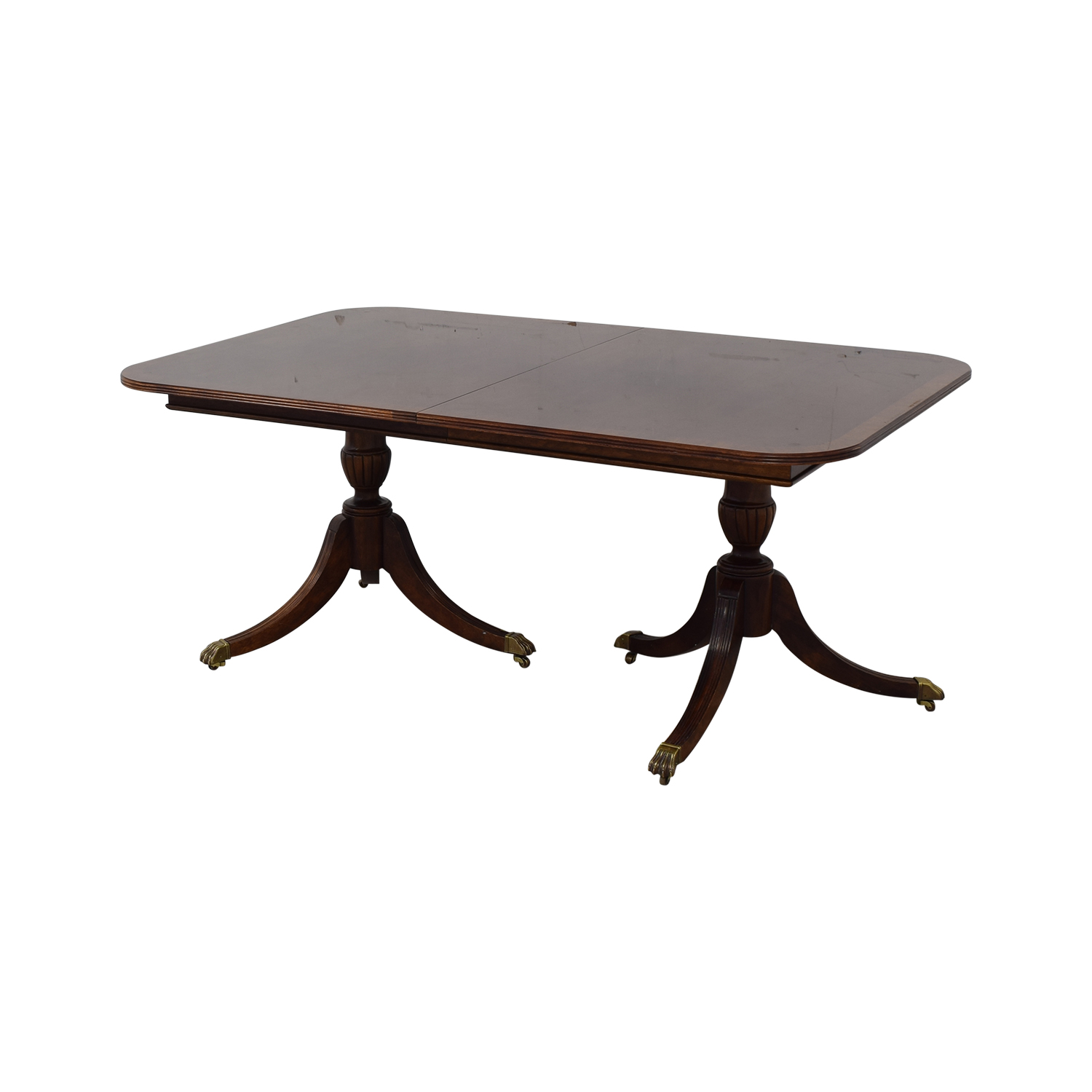 Thomasville Thomasville Extendable Dining Table dimensions