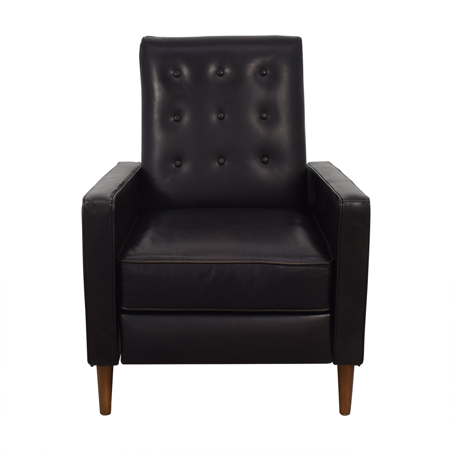 West Elm West Elm Rhys Mid Century Recliner Accent Chairs
