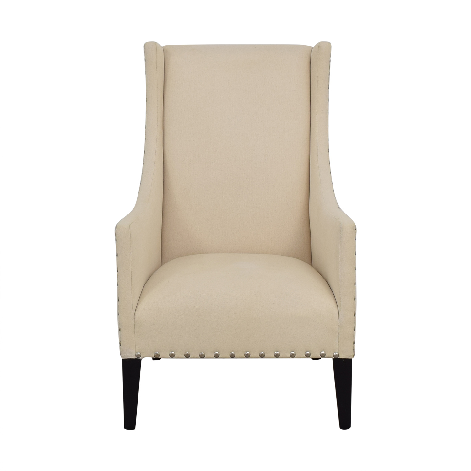 Andrew Martin Andrew Martin Winged Back Arm Chair nyc