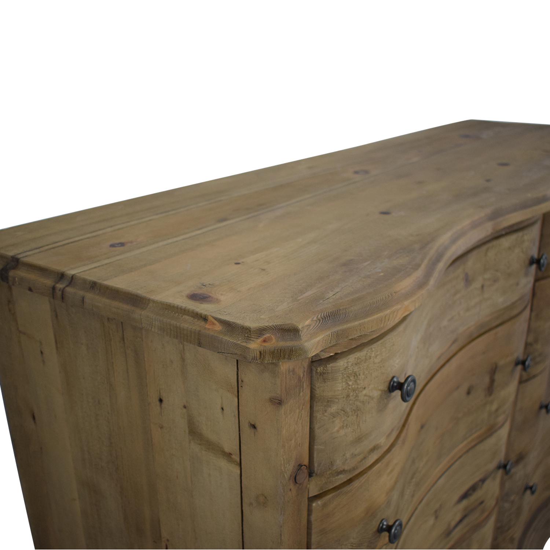 Restoration Hardware Restoration Hardware Rustic Double Dresser nyc