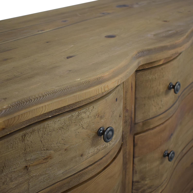 Restoration Hardware Rustic Double Dresser / Storage