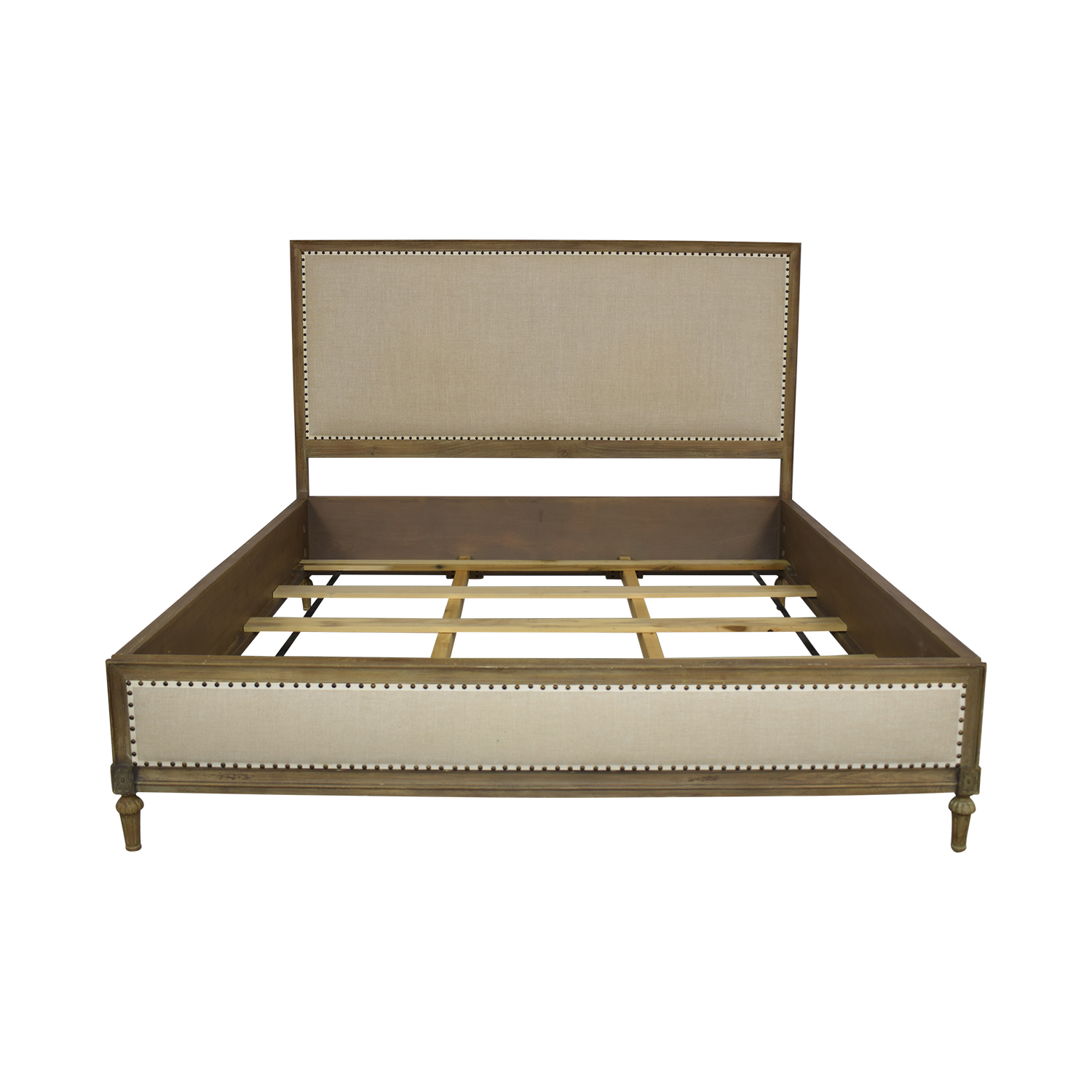 buy Restoration Hardware King Maison Panel Fabric Bed Frame Restoration Hardware Bed Frames