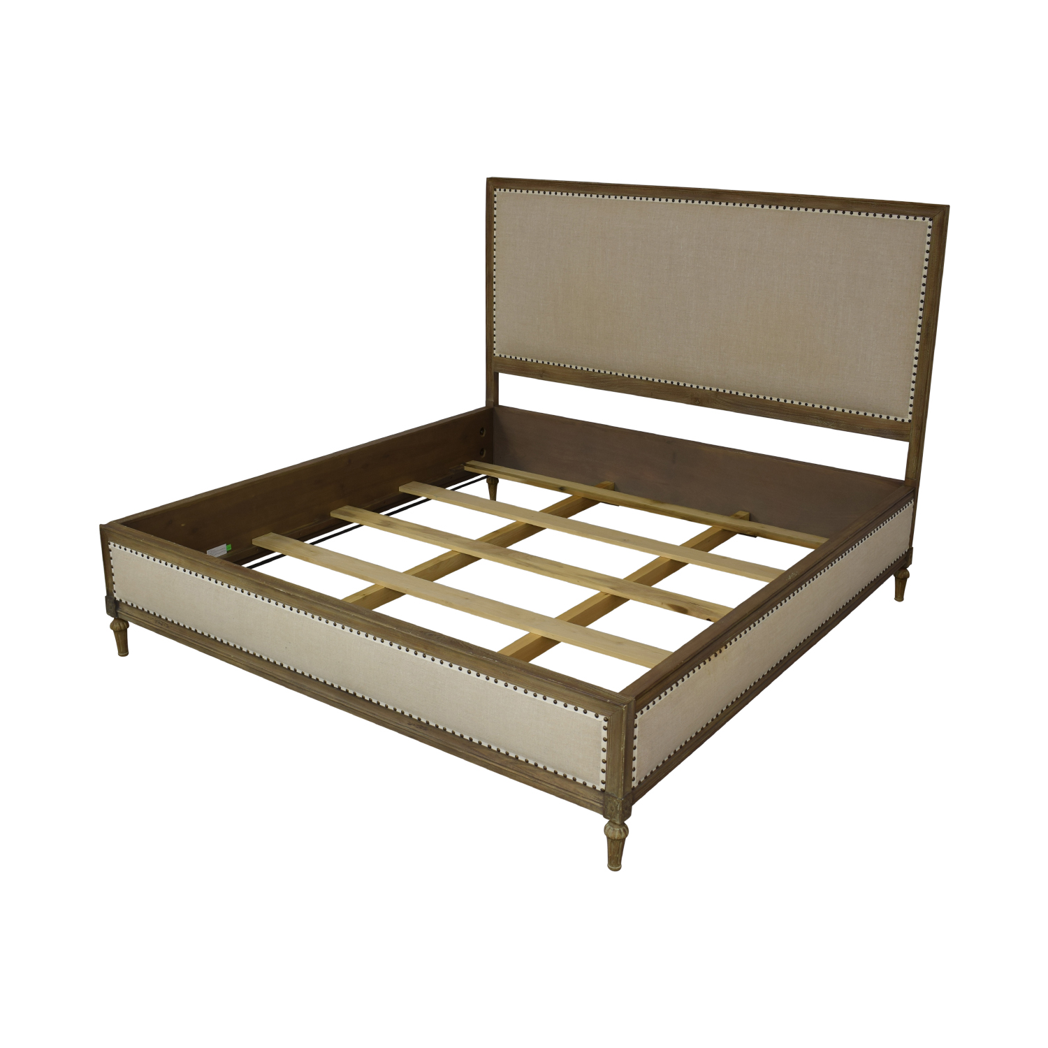 Restoration Hardware Restoration Hardware Maison Panel Fabric Bed Frame used