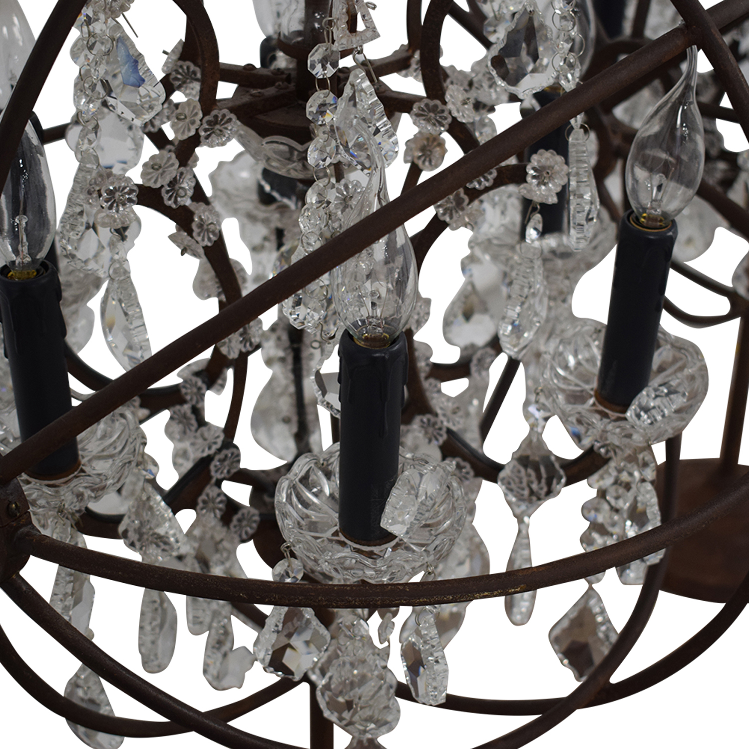 buy Restoration Hardware Restoration Hardware Orb Crystal Table Lamps online