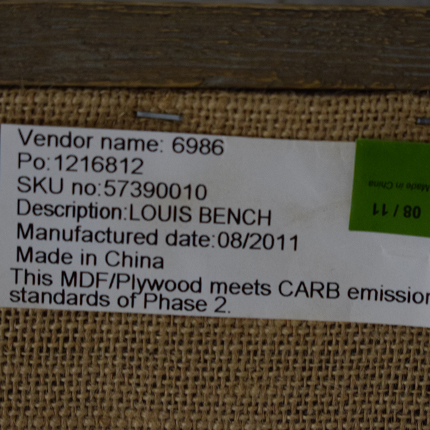 buy Restoration Hardware Louis Bench Restoration Hardware