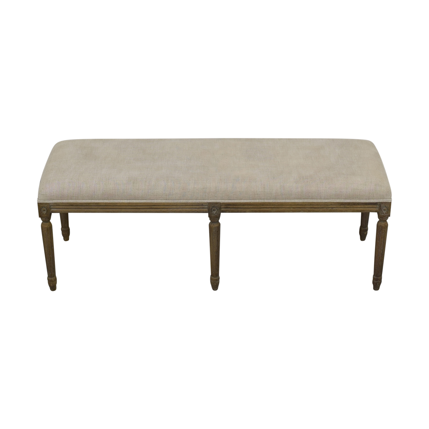 Restoration Hardware Restoration Hardware Louis Bench Chairs
