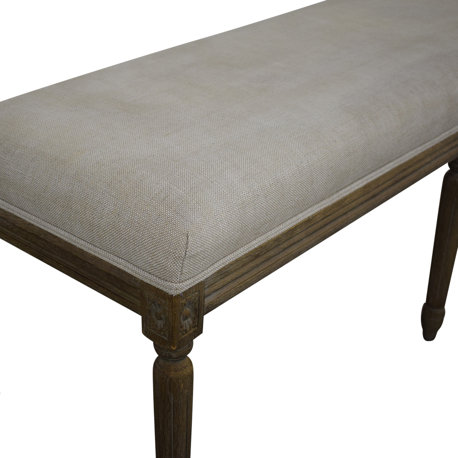 shop Restoration Hardware Louis Bench Restoration Hardware Benches