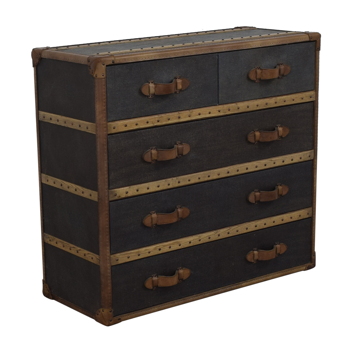 shop Restoration Hardware Four-Drawer Chest Restoration Hardware Storage