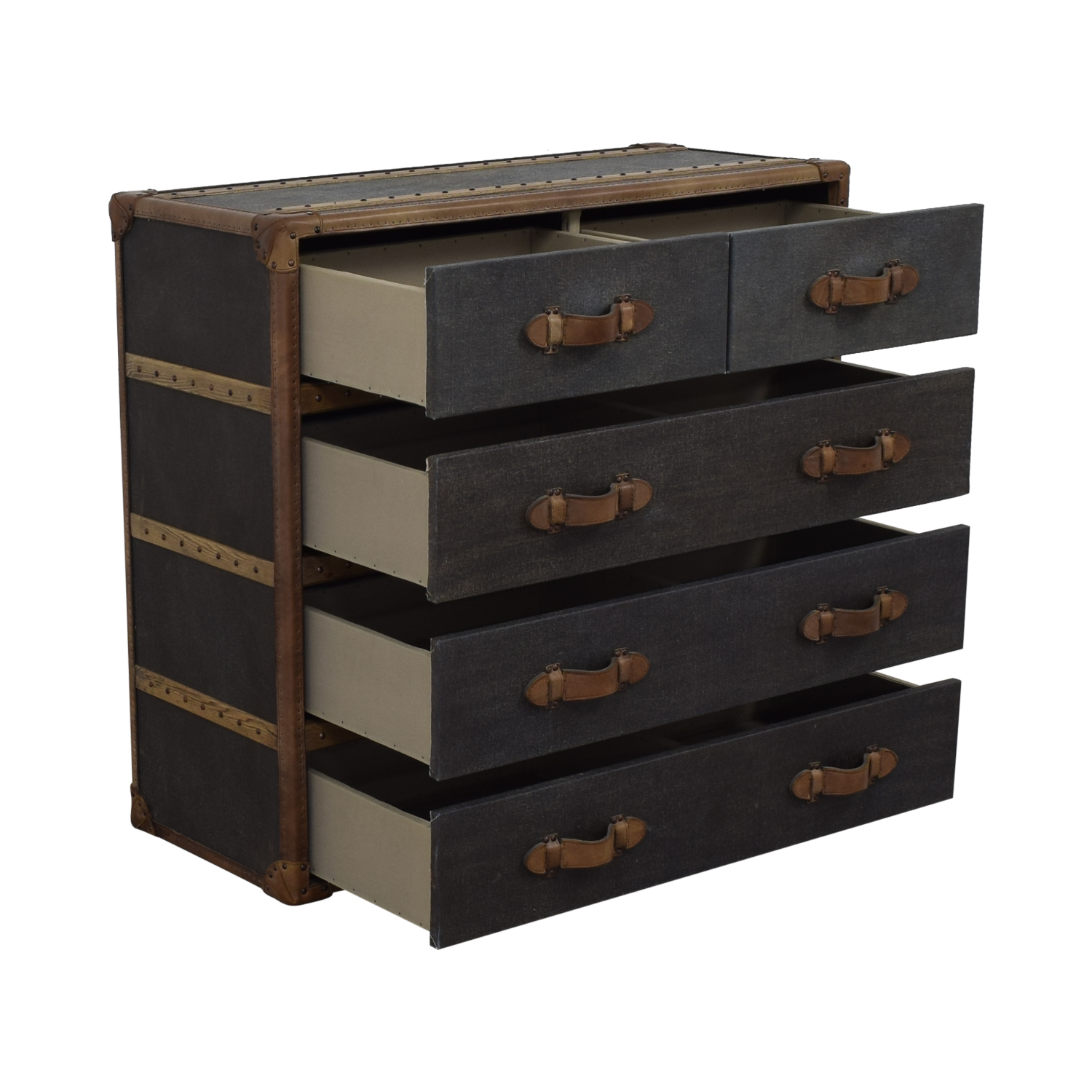shop Restoration Hardware Four-Drawer Chest Restoration Hardware
