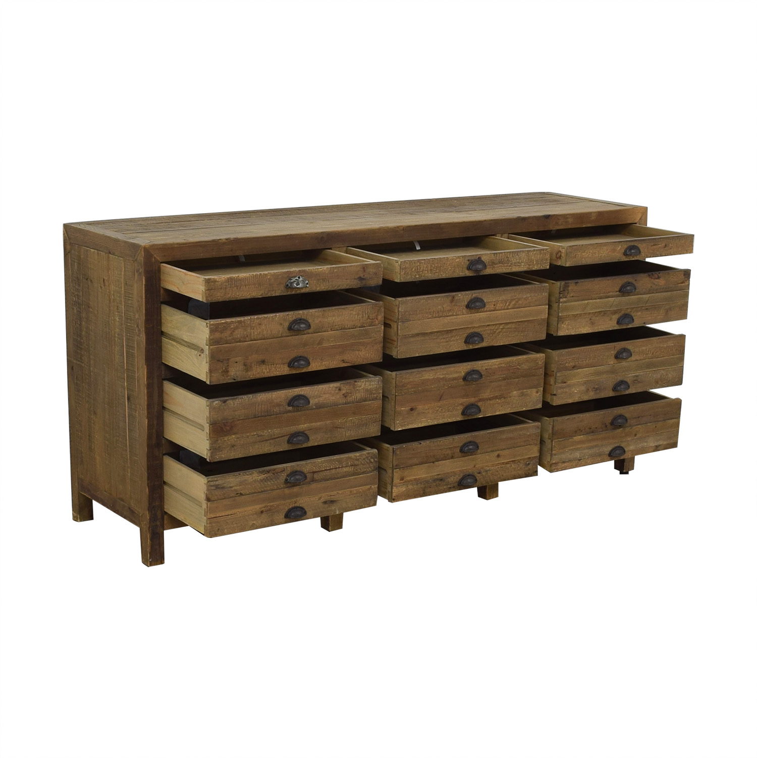 shop Restoration Hardware Printmaker's Sideboard Restoration Hardware