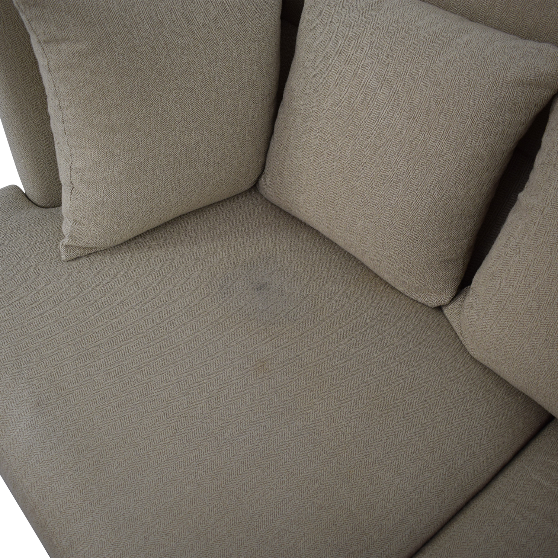 buy Crate & Barrel Crate & Barrel Milo Baughman Sofa online