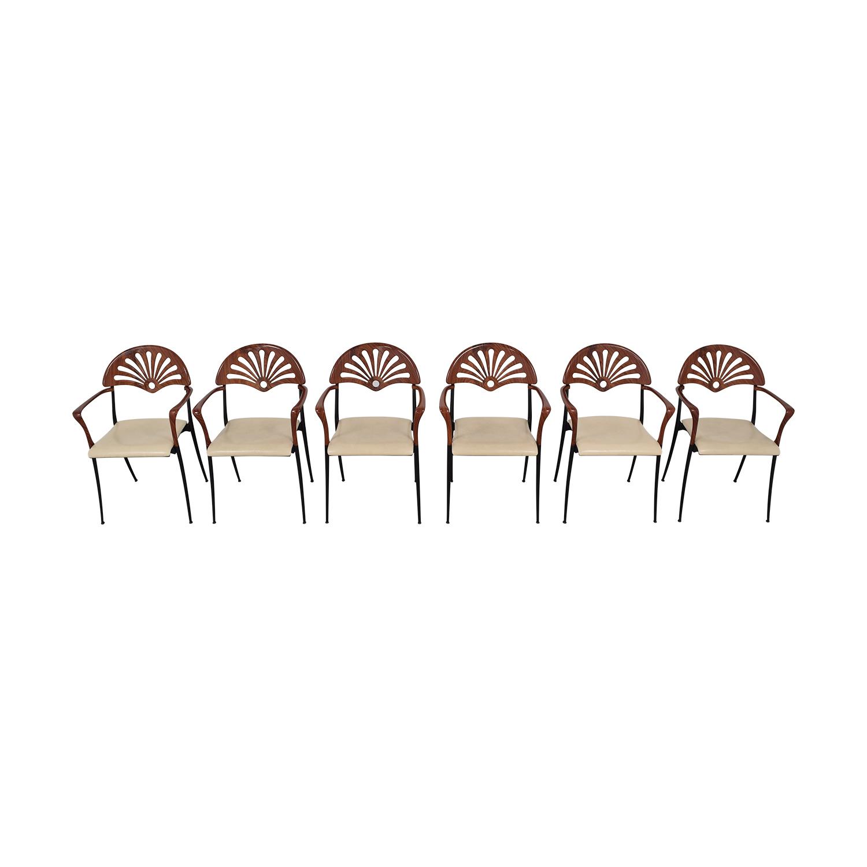 Italian Custom Dining Chairs used