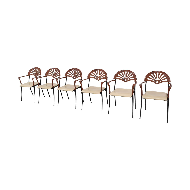 Italian Custom Dining Chairs discount