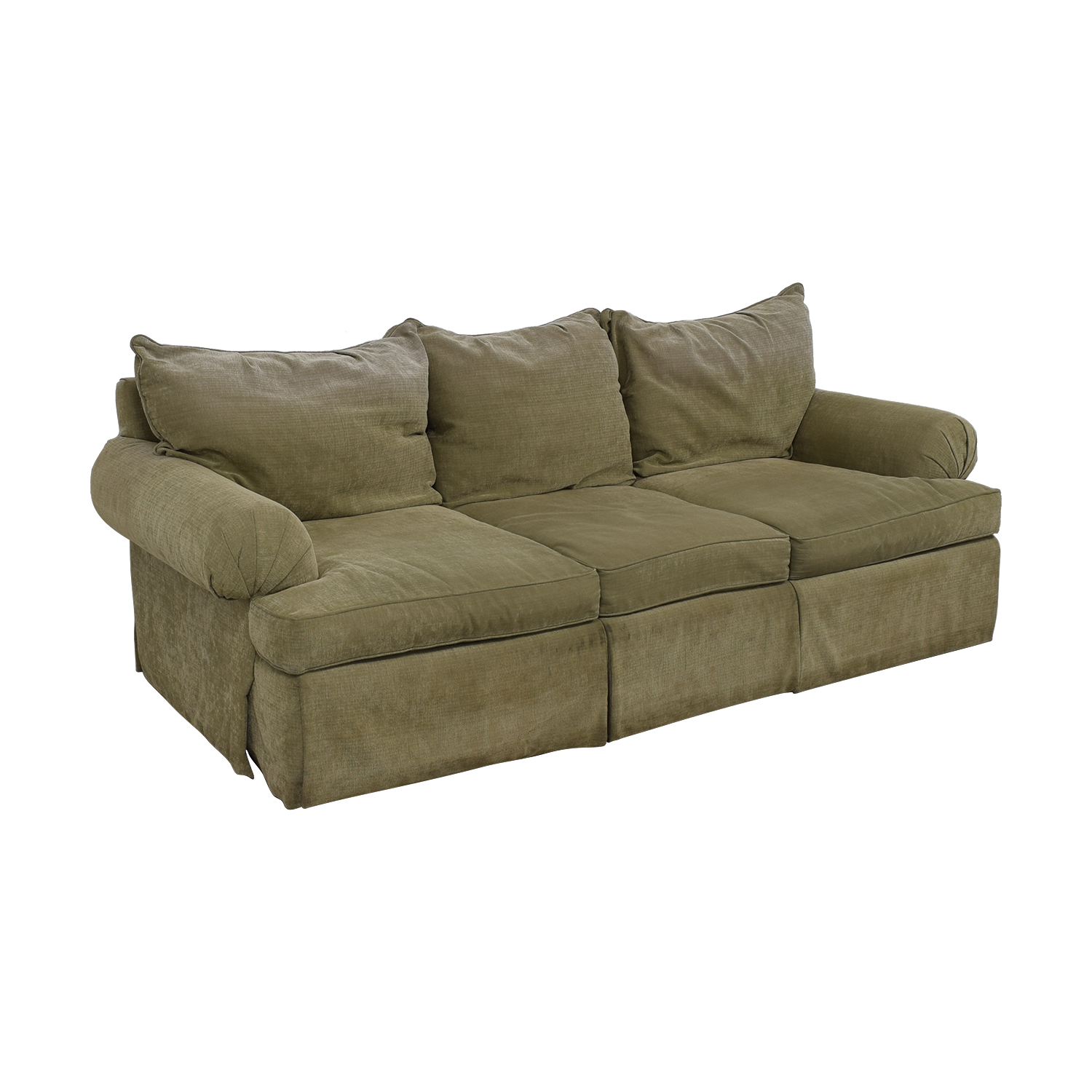 Bernhardt Bernhardt Three-Cushion Sofa second hand