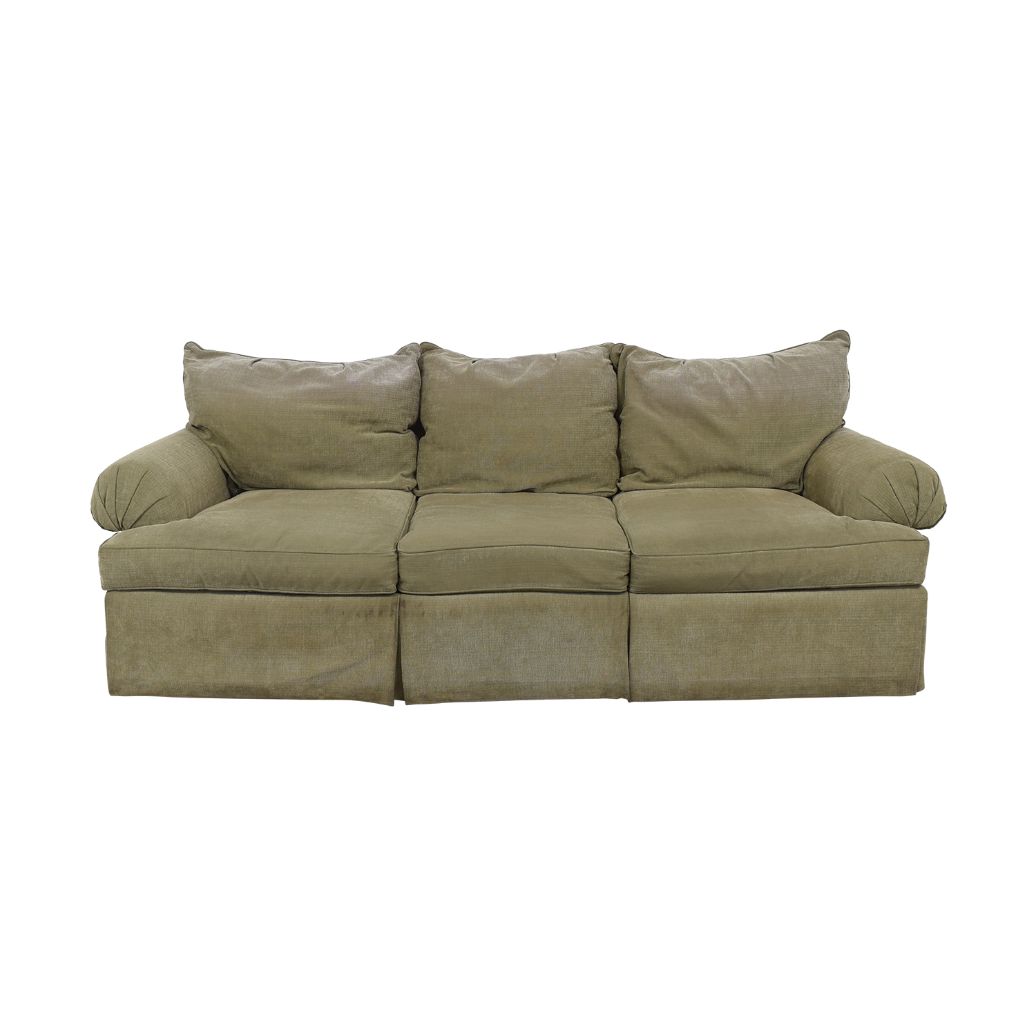 buy Bernhardt Three-Cushion Sofa Bernhardt