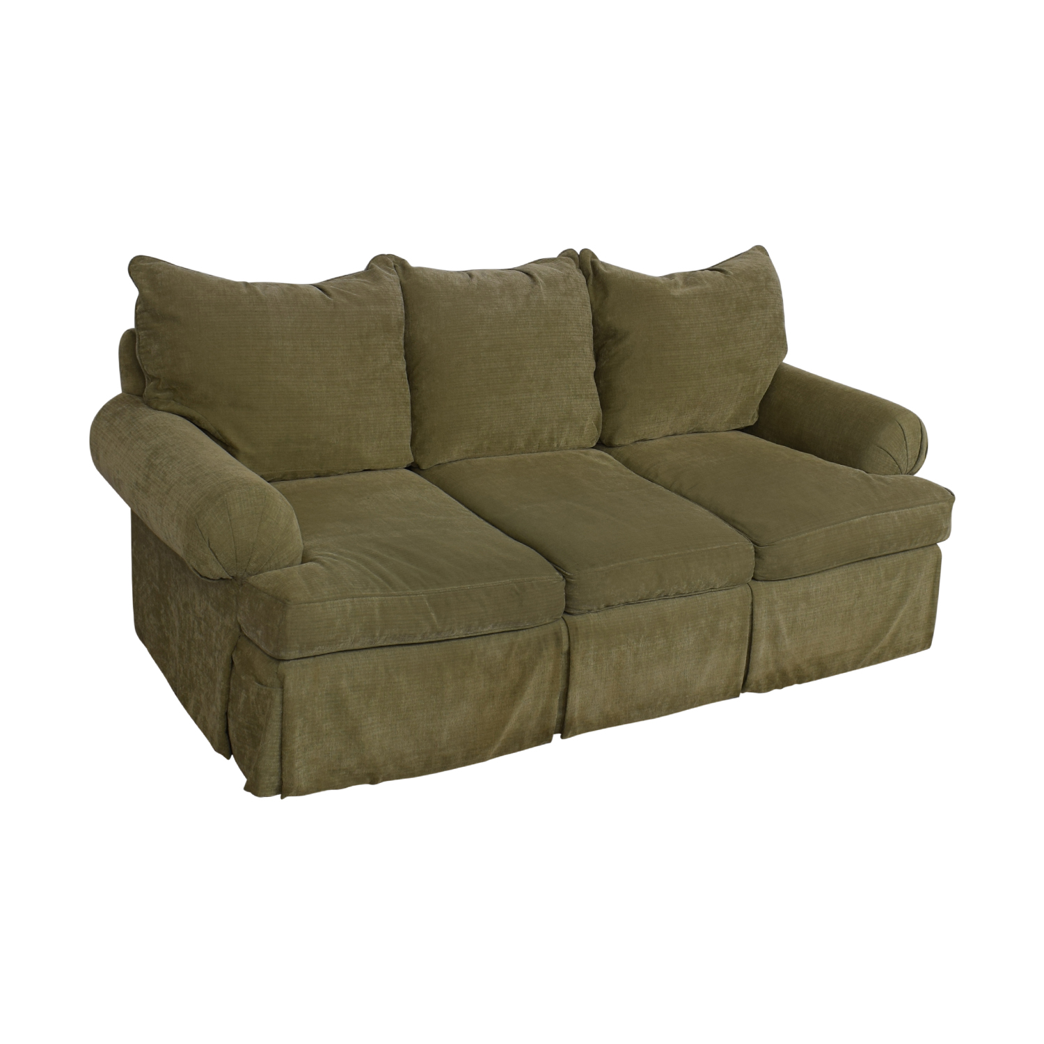 shop Bernhardt Three Cushion Sofa Bernhardt Sofas