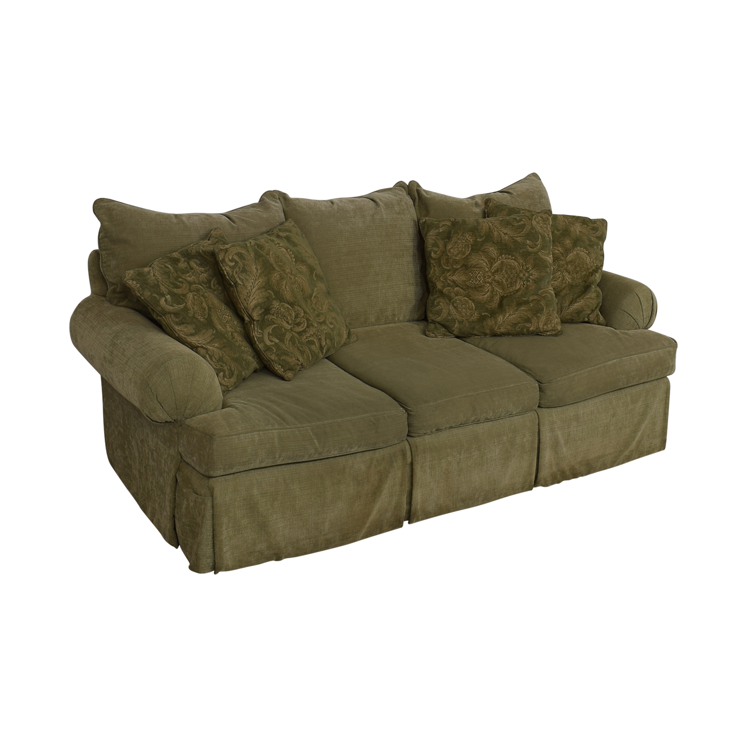 Bernhardt Three Cushion Sofa / Classic Sofas
