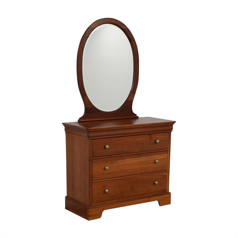 Stanley Furniture Stanley Furniture Oval Mirror Dresser discount