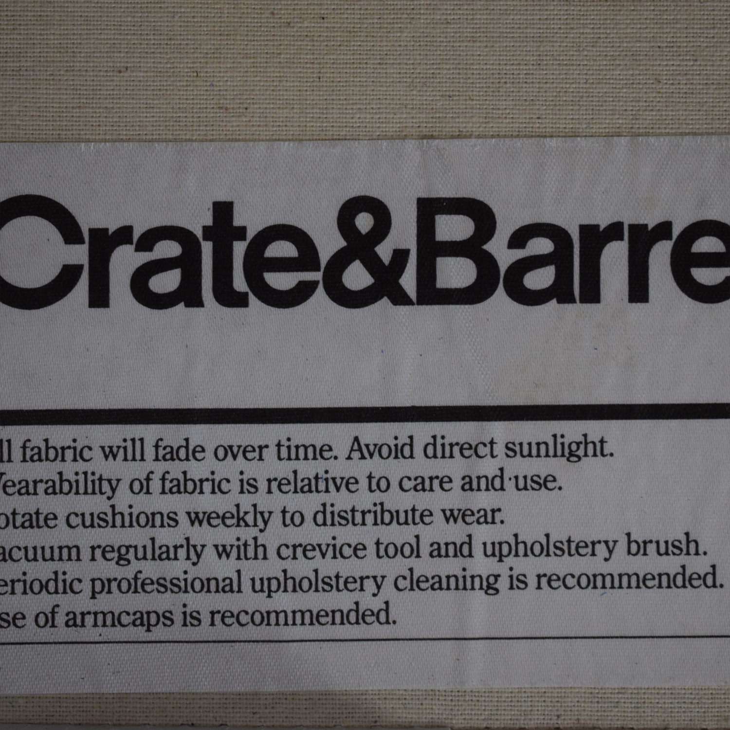 buy Crate & Barrel Willow Modern Slipcovered Chair and a Half Crate & Barrel Chairs