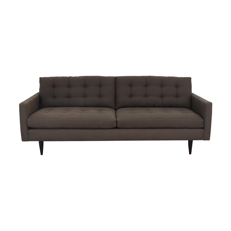 Crate & Barrel Crate & Barrel Petrie Mid Century Sofa on sale