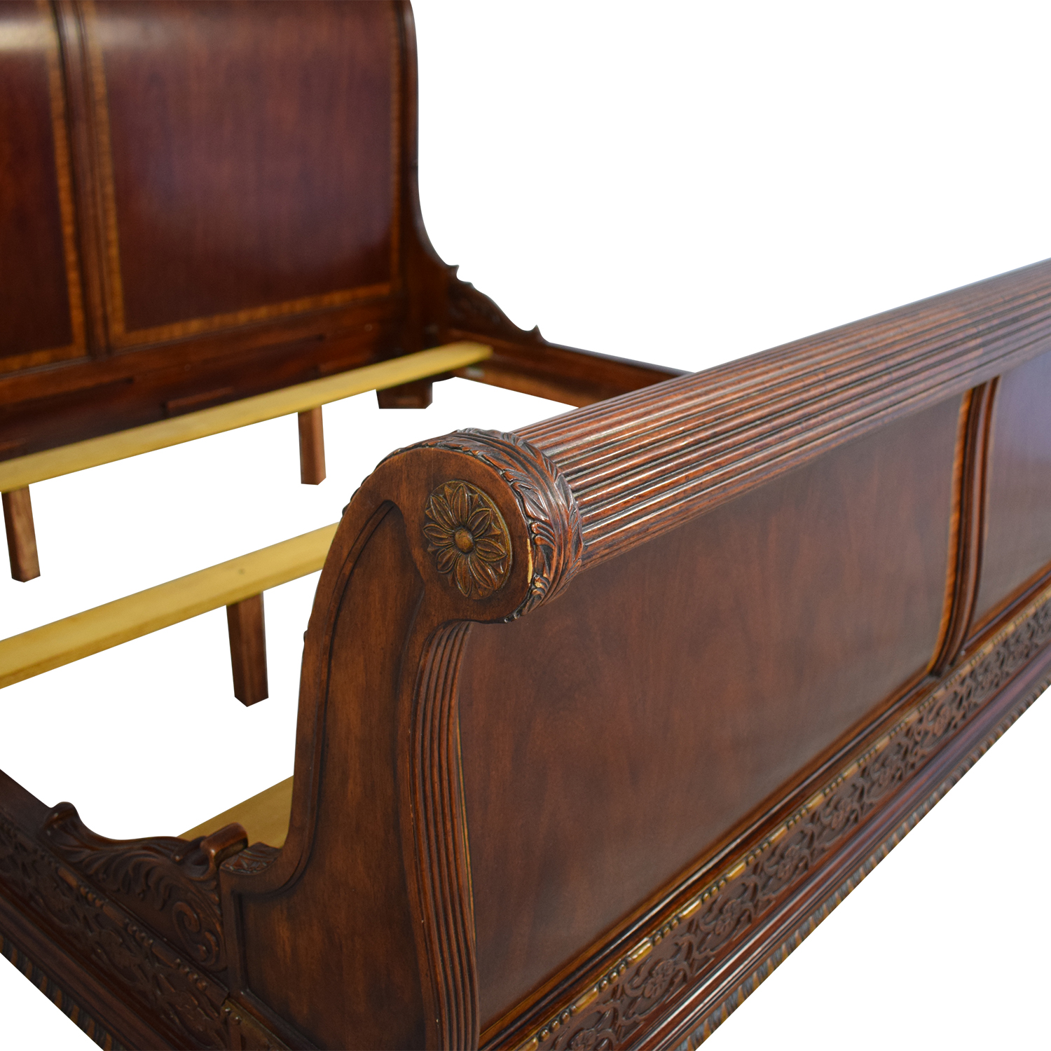 Macy's King Size Sleigh Bed Frame / Beds