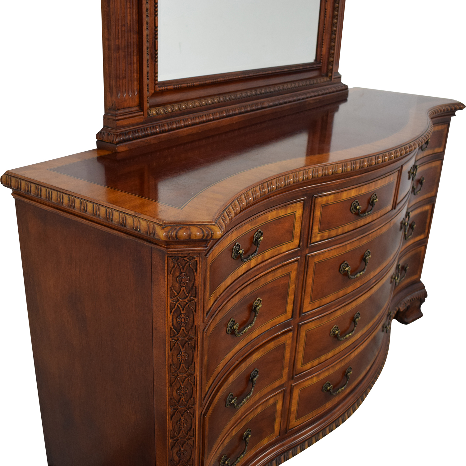 Universal Furniture Universal Furniture Chest of Drawers with Mirror on sale