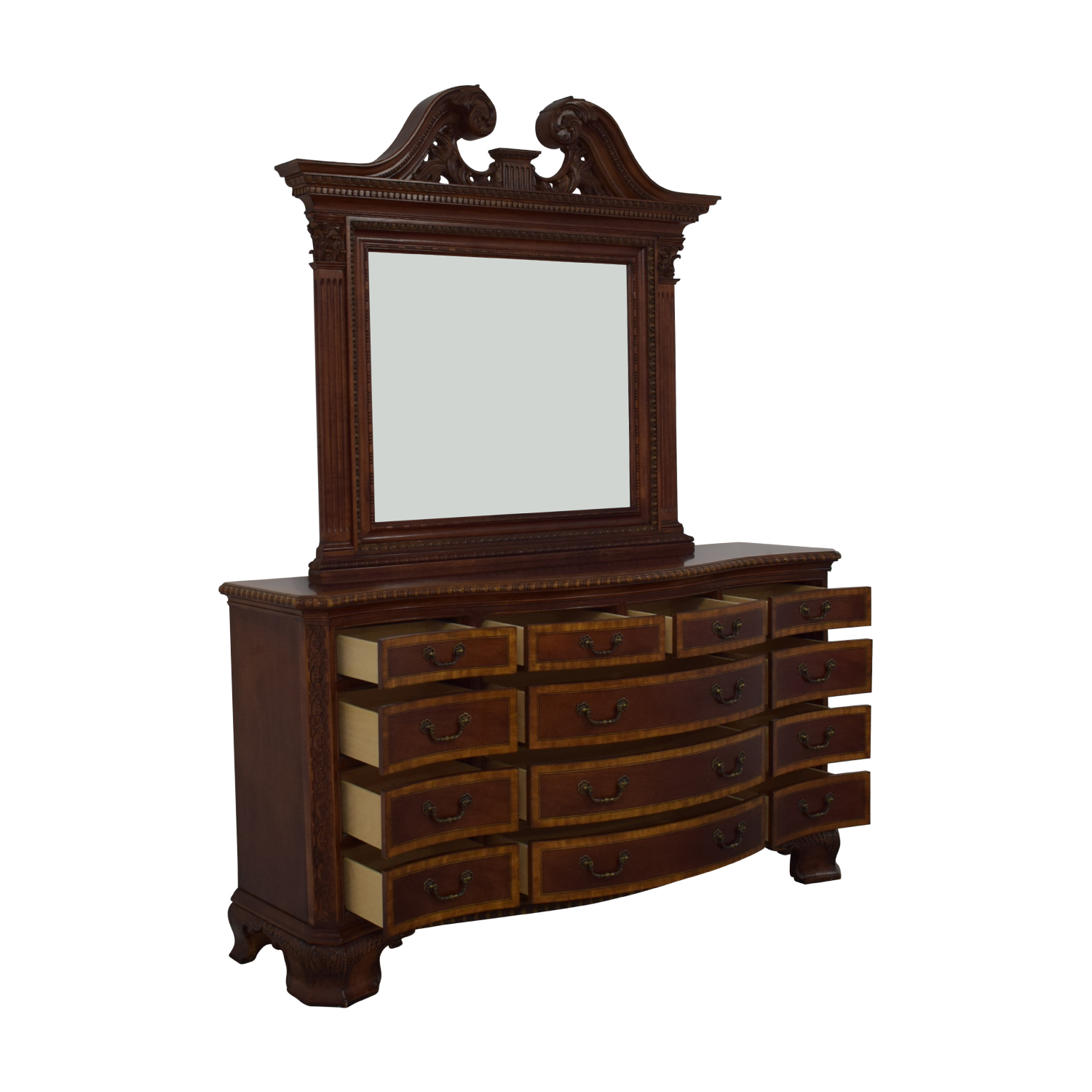 shop Universal Furniture Chest of Drawers with Mirror Universal Furniture