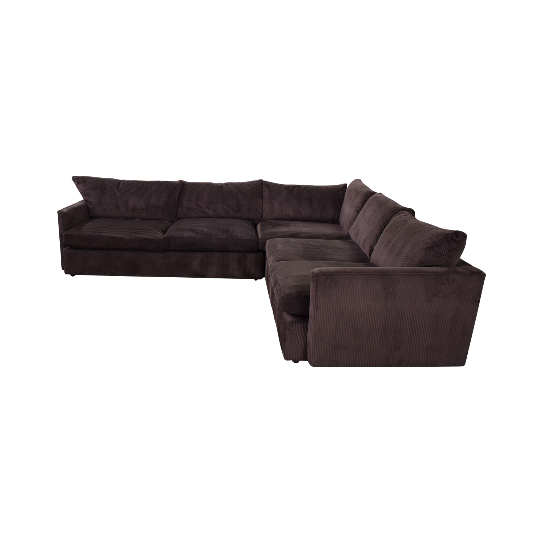 Crate & Barrel Crate & Barrel Three-Piece Sectional Sofa Sectionals