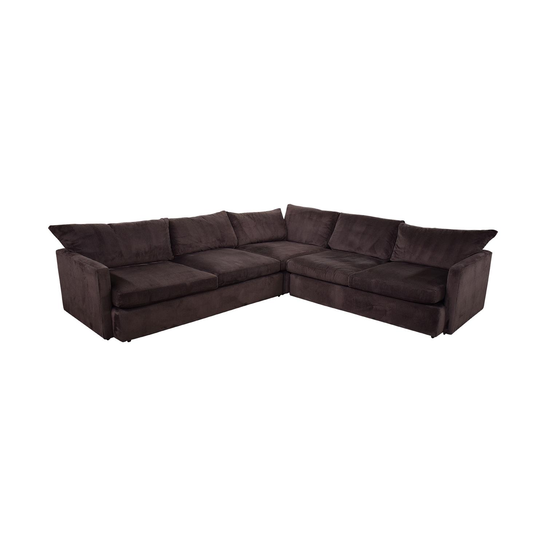 Crate & Barrel Crate & Barrel Three-Piece Sectional Sofa Sofas