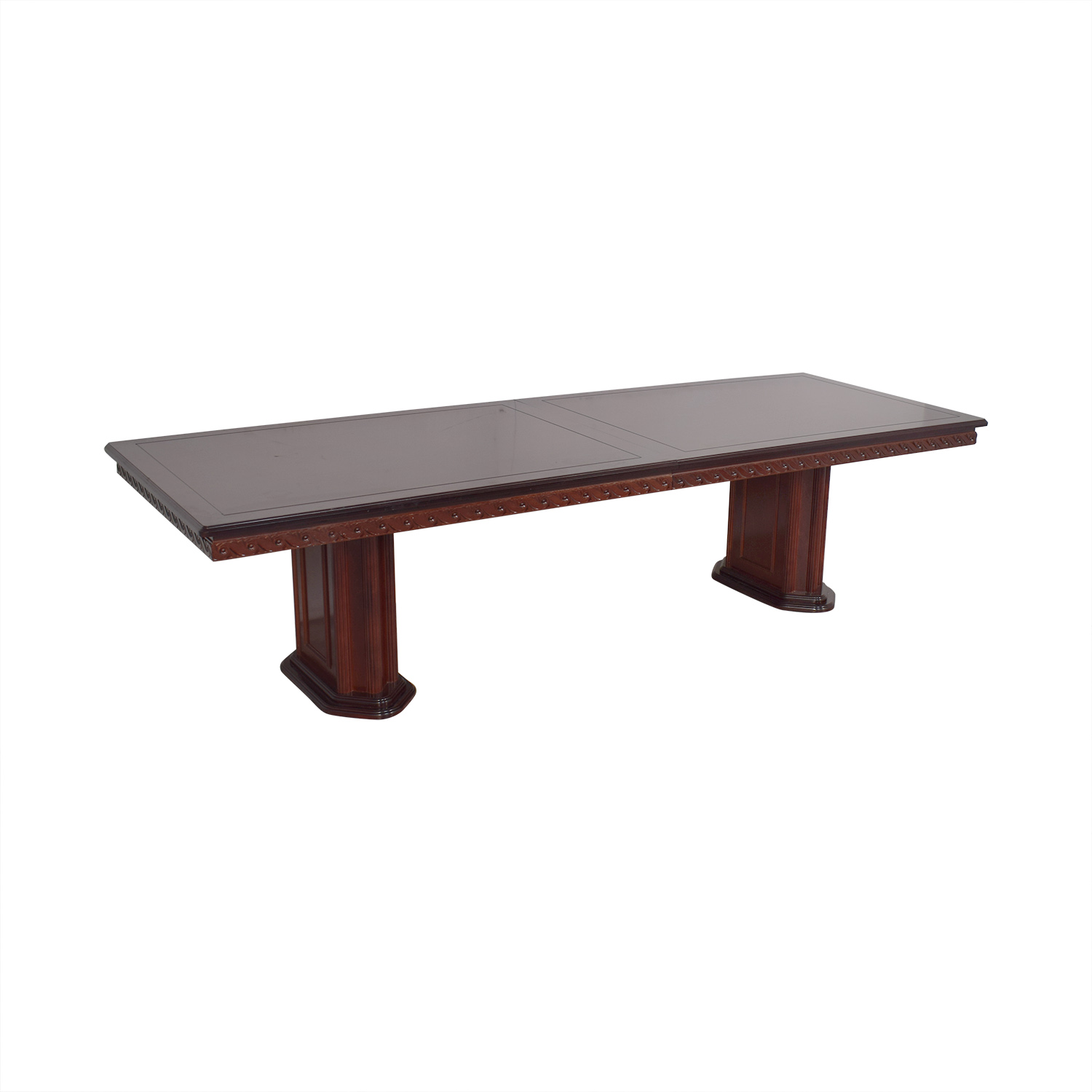 Rectangular Extendable Dining Room Table on sale