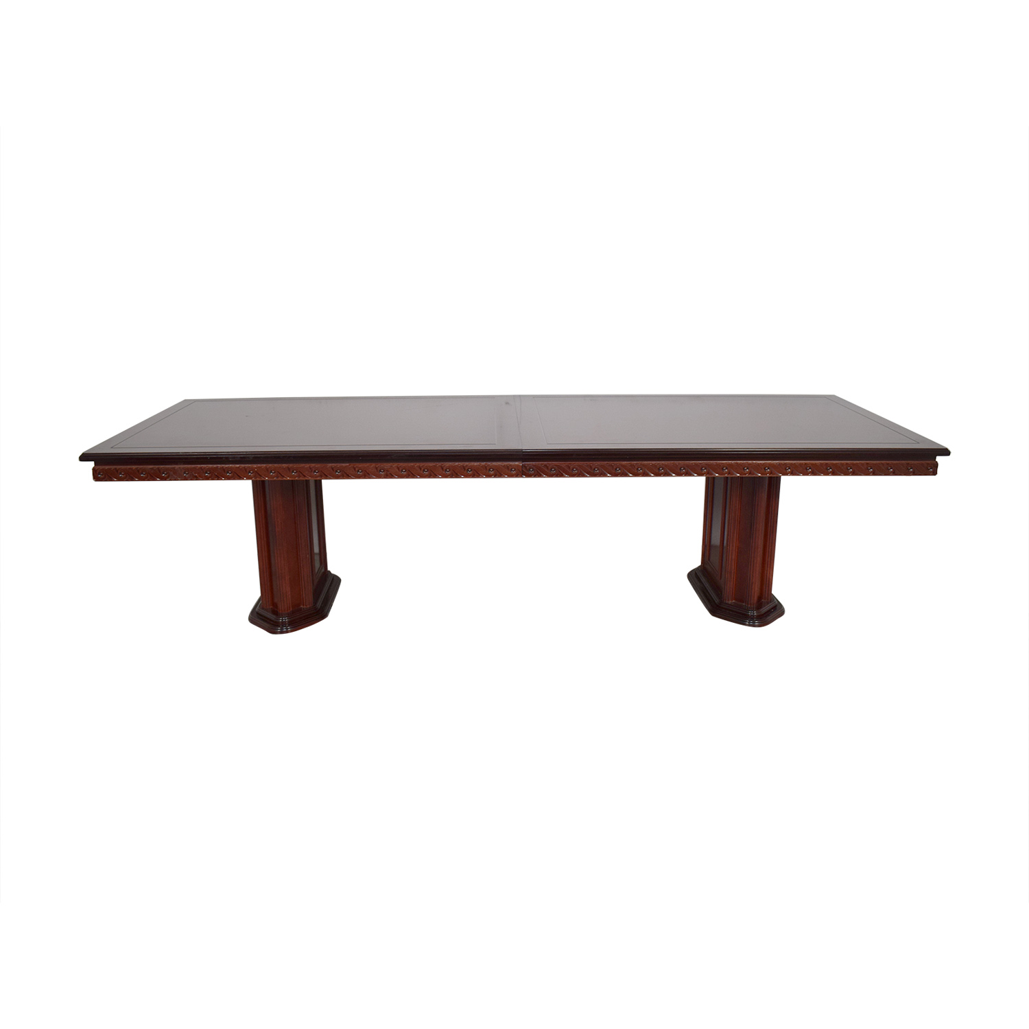 Rectangular Extendable Dining Room Table sale