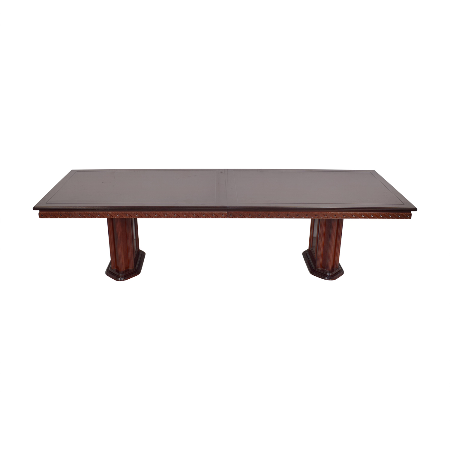 Rectangular Extendable Dining Room Table for sale