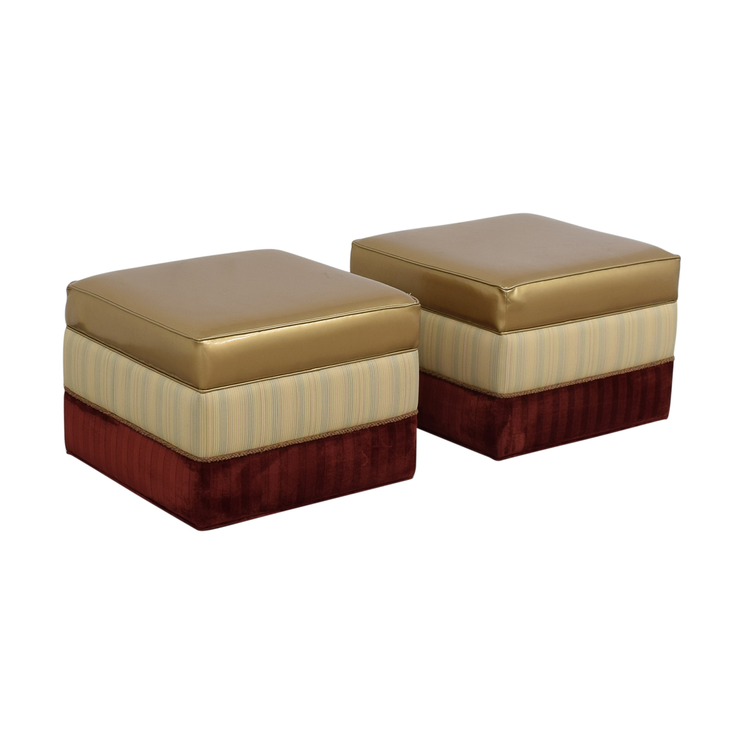 shop Vanguard Personalized Ottomans Vanguard Furniture
