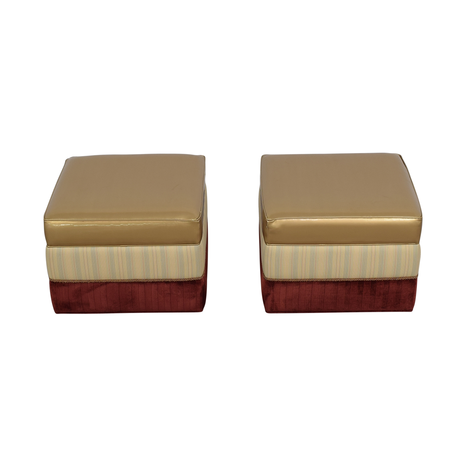 Vanguard Furniture Vanguard Personalized Ottomans nj