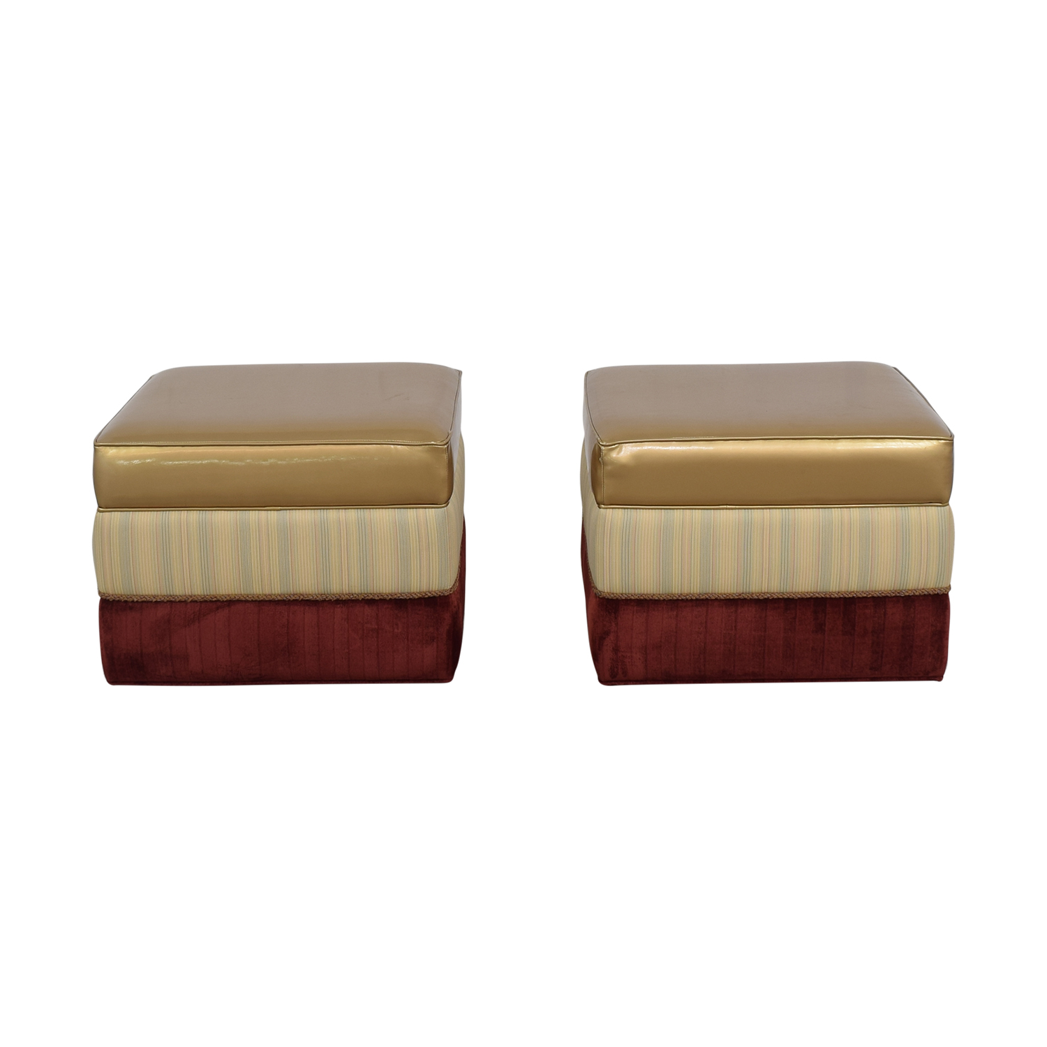 Vanguard Furniture Vanguard Personalized Ottomans multi