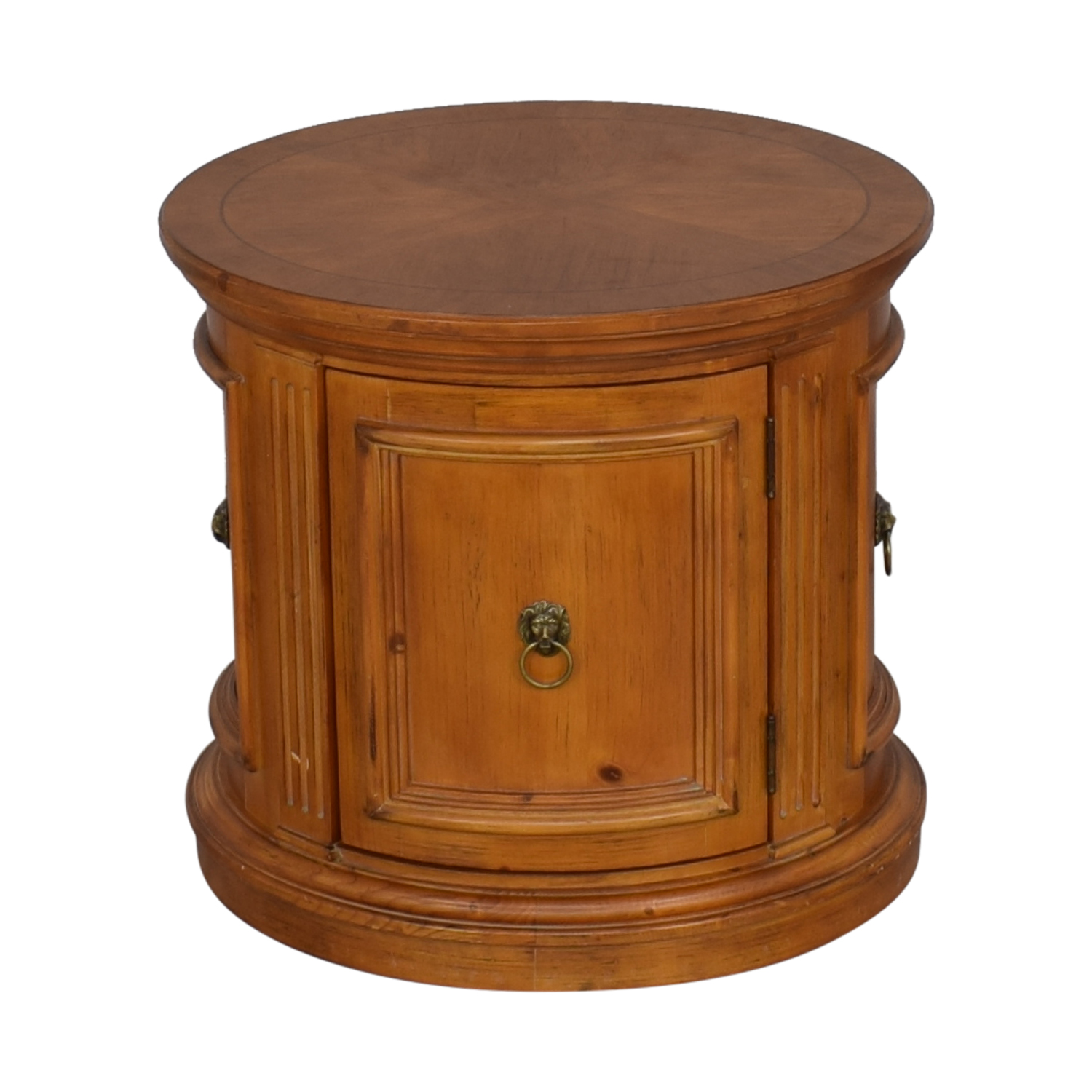 Ethan Allen Ethan Allen Legacy Drum End Table nyc