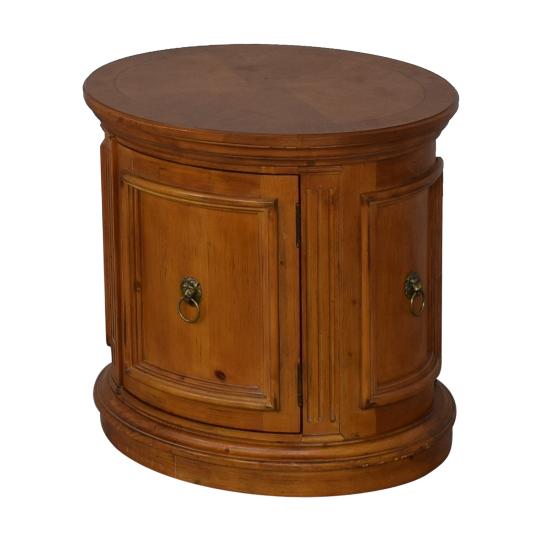 Ethan Allen Ethan Allen Legacy Drum End Table nj