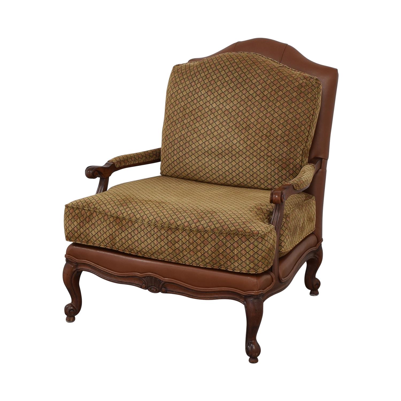 Ethan Allen Ethan Allen Upholstered Accent Chair discount