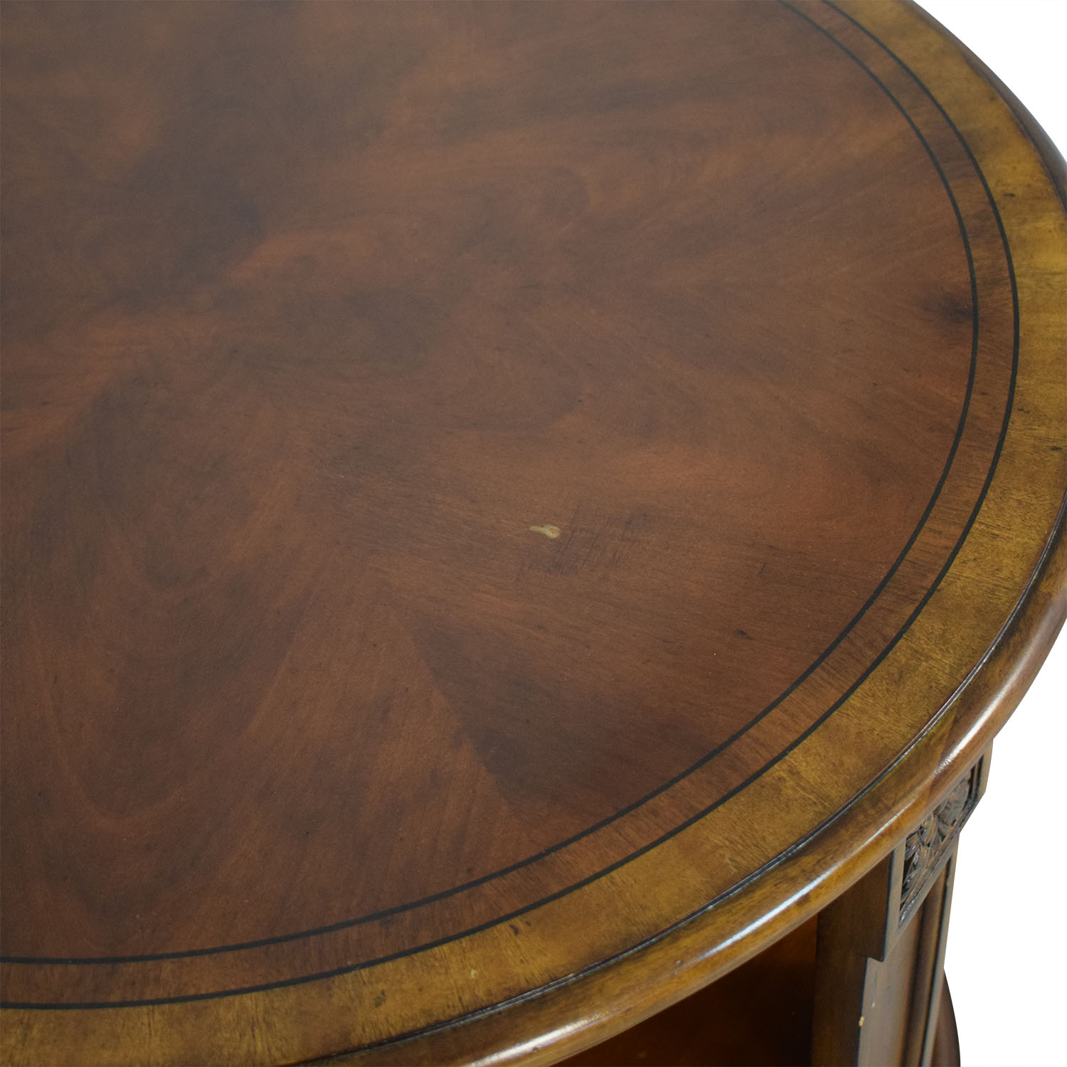 Ethan Allen Ethan Allen Library Table used