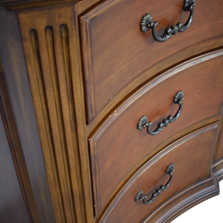 Ethan Allen Ethan Allen Serpentine Dresser with Mirror for sale