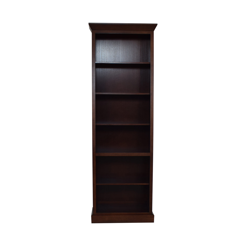 buy Ethan Allen Wood Bookcase Ethan Allen