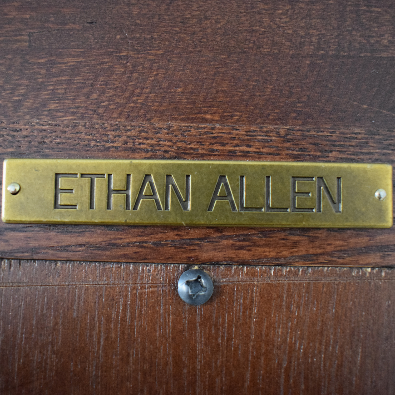 Ethan Allen Ethan Allen Wood Bookcase dimensions