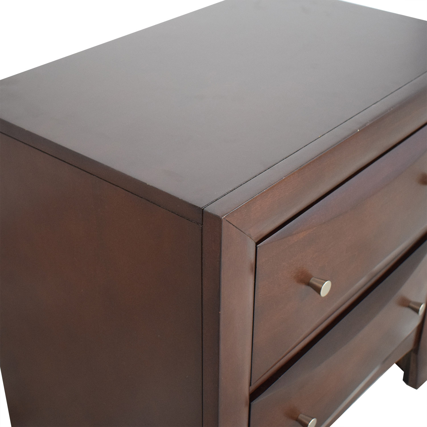 Raymour & Flanigan Two-Drawer End Table / End Tables
