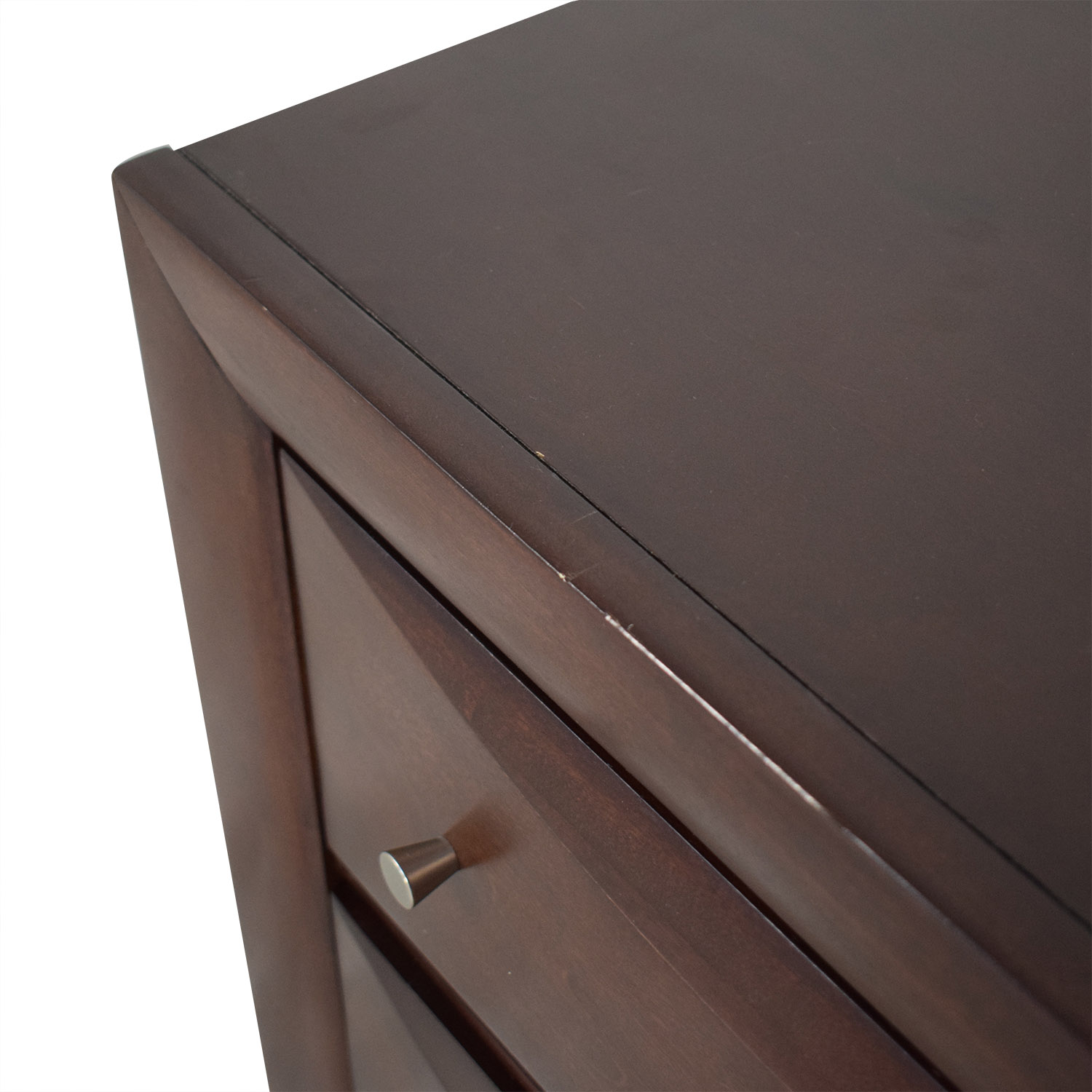 buy Raymour & Flanigan Two-Drawer End Table Raymour & Flanigan End Tables
