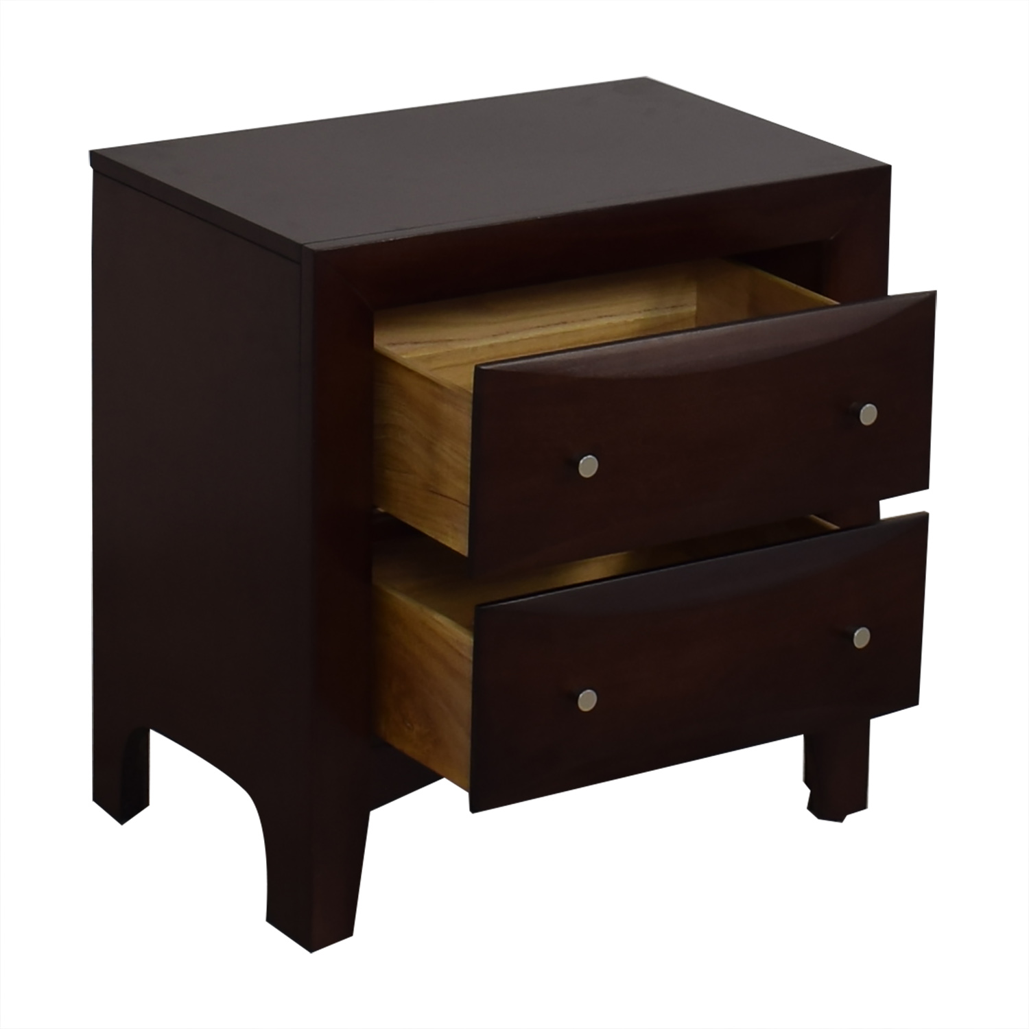 Raymour & Flanigan Raymour & Flanigan Two-Drawer End Table used