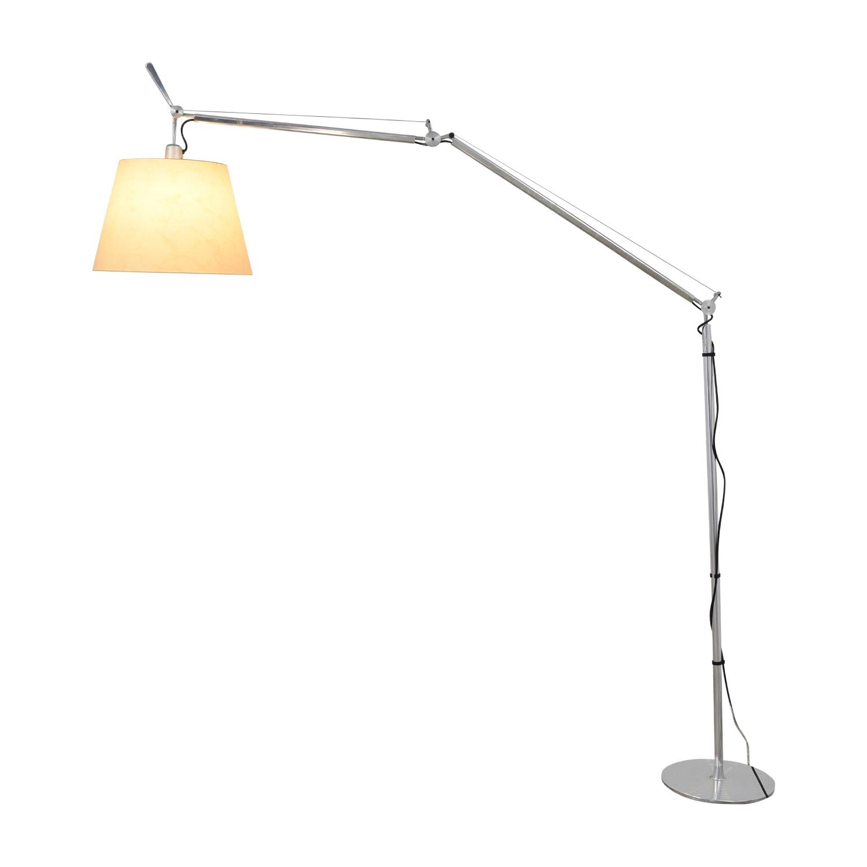 Artemide Artemide Tolomeo Mega Floor Lamp silver & beige