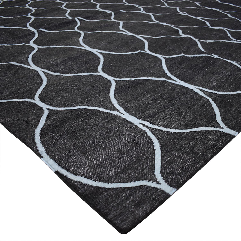 Obeetee Obeetee Ryma 8X5 Geometric Wool Rug Decor