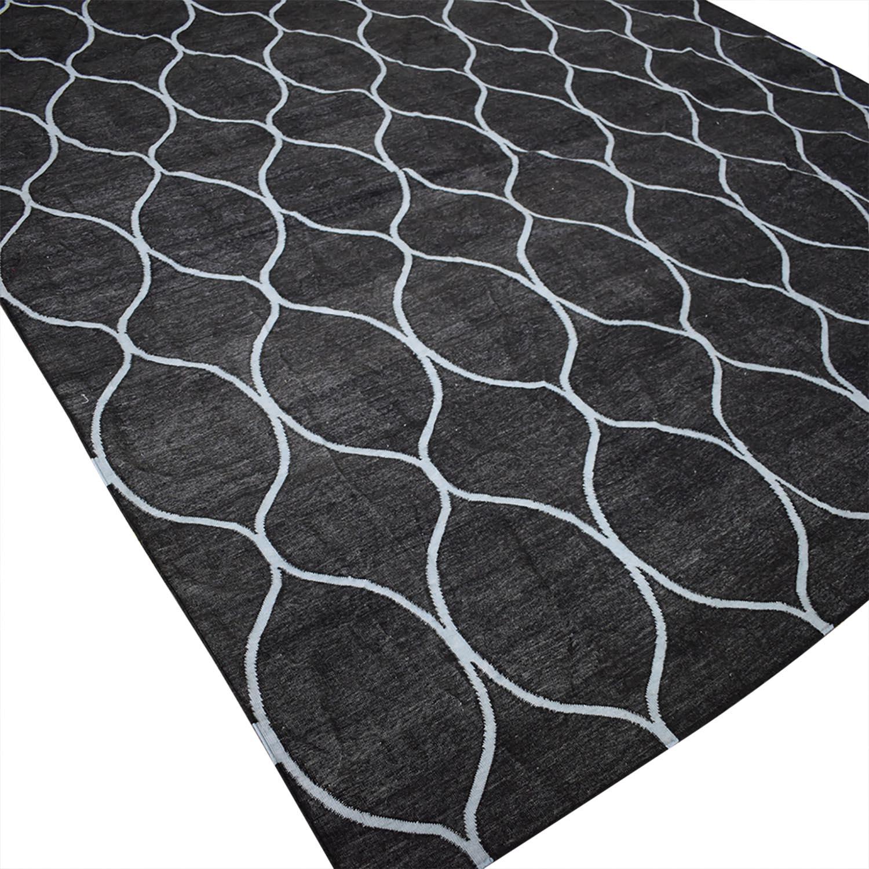 buy Obeetee Obeetee Ryma 8X5 Geometric Wool Rug online