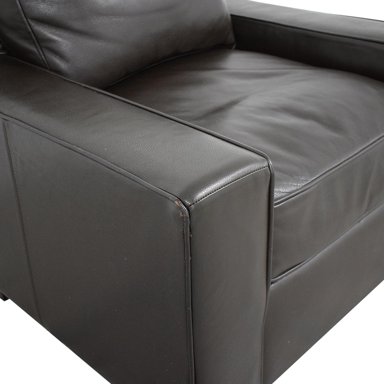 West Elm West Elm Leather Arm Chair